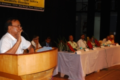 Dr.B.B. Saha deliberationg speech on KB Memorial  Foundation innauguration
