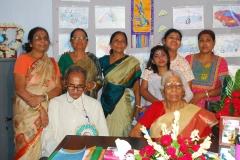 Social gathering with Kanishka's relatives